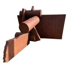 """Welded Steel Sculpture by Tom Sayre """"Good News"""""""