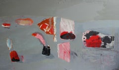 The alphabet of events - XXI century, Abstraction, Minimalistic, Oil painting