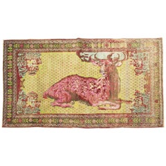 Jolly Deer Pictorial Karabagh Conversation Rug