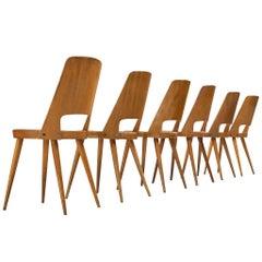 Jomaine Baumann 'Mondor' Dining Chairs in Plywood