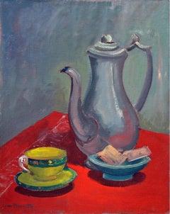 Mid Century Tea Time Still Life
