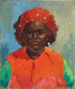 Portrait of an African American Woman 1967