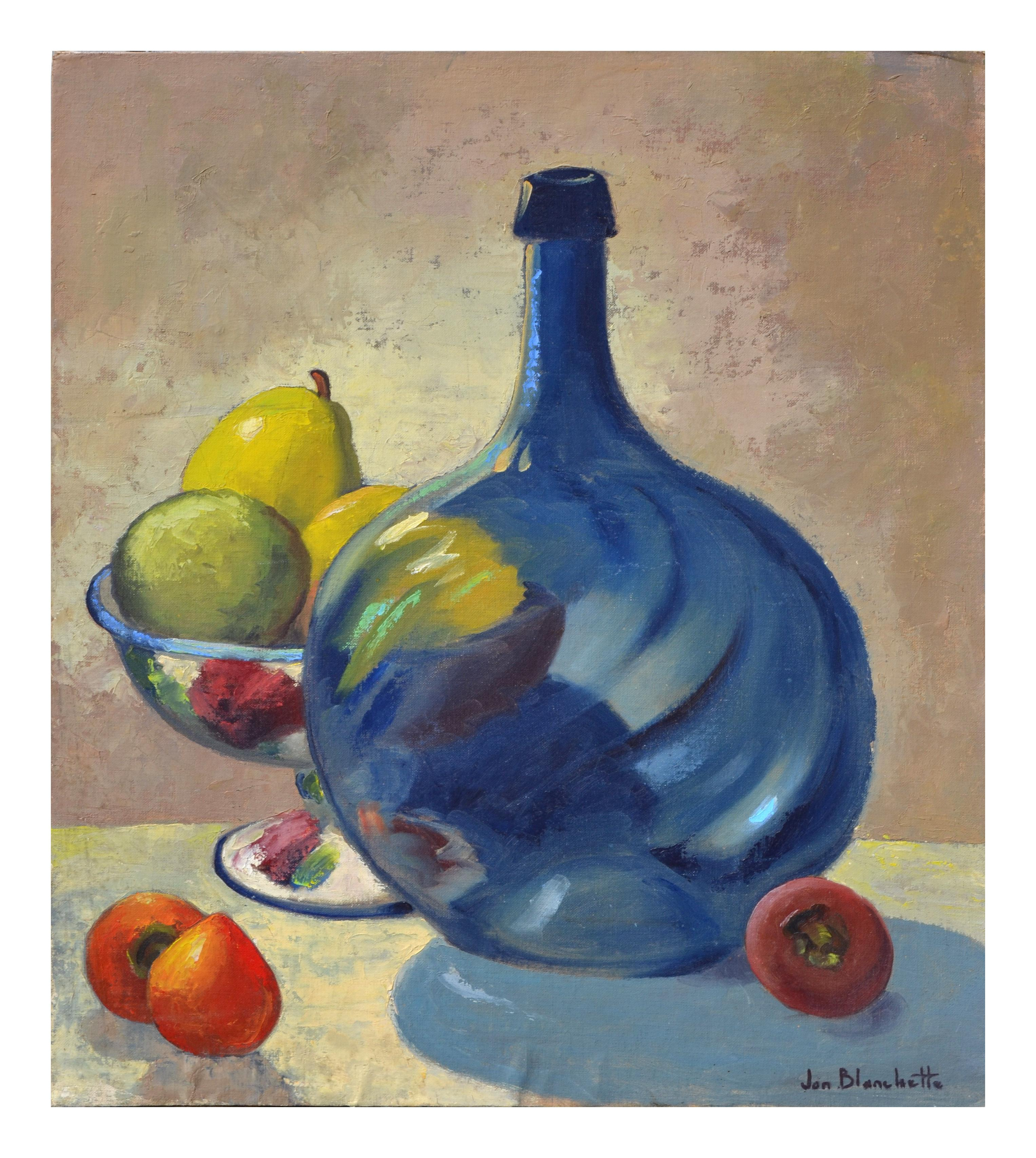 Still Life with Blue Bottle