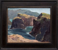 Untitled (Northern California Cliffs and Sea)