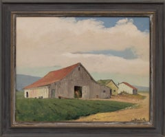 Untitled (White Barn, California)