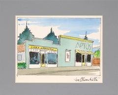 Van's Grocery, Aptos Village California by Jon Blanchette