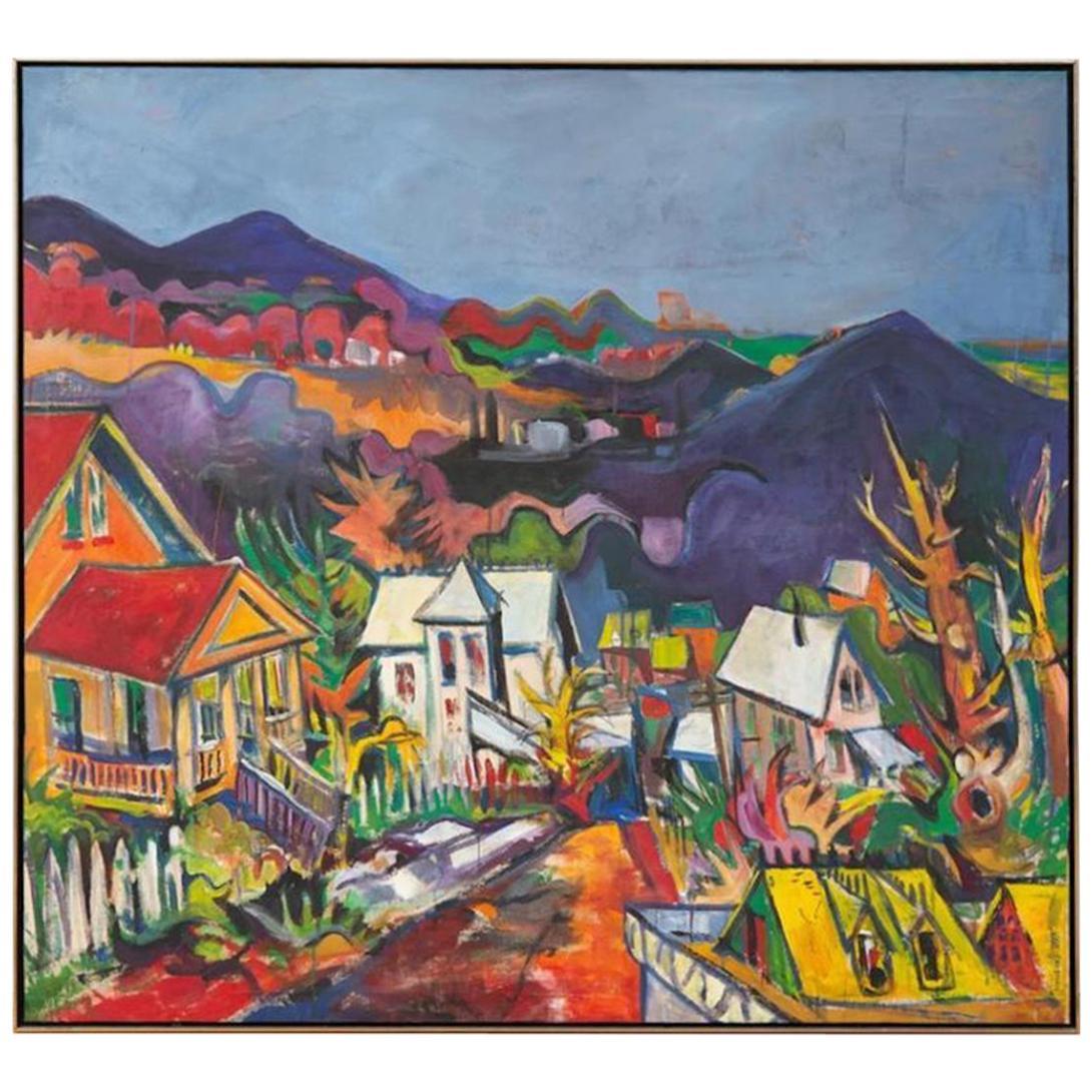 Jon Carsman, Edwardsville, Oil on Canvas