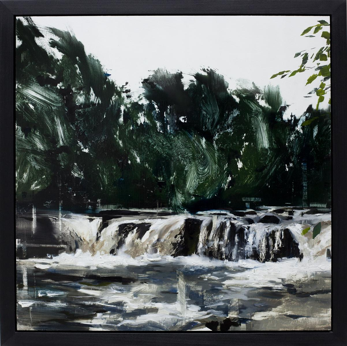 """""""Woodland Waters"""", Oil painting"""