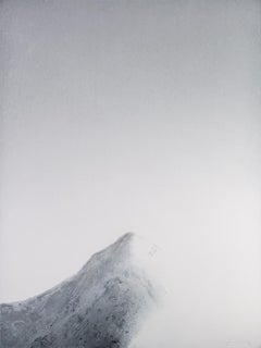 Black Mountains III - 21st Century, Contemporary, Painting, Mixed Media