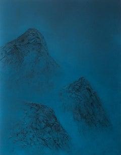 Black Mountains XX - 21st Century, Contemporary Art, Landscape Painting