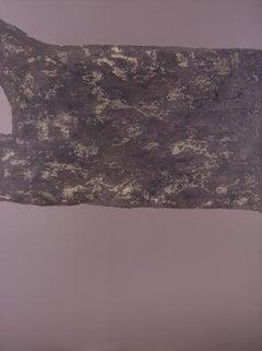 Stones XXXVI - 21st Century, Contemporary, Abstract Painting, Mixed Media
