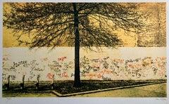 Graffiti Art Photograph Silkscreen Print Park New York City 1970s Pop Art