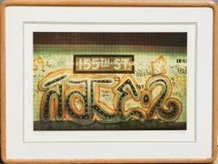 """155th Street"" from Faith of Graffiti, 1974, Serigraph by Jon Naar"