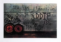 """Eddie"" from Faith of Graffiti, 1974, Serigraph by Jon Naar"