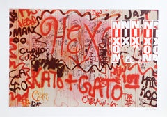 """Nixon"" from Faith of Graffiti, 1974, Serigraph by Jon Naar"