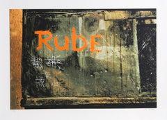 """Rube"" from Faith of Graffiti, 1974, Serigraph by Jon Naar"