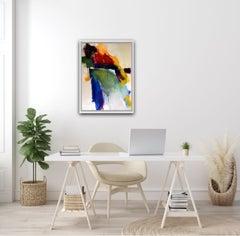 Jon Rowland, Shooting the Breeze, Original Abstract Expressionist Art, BrightArt