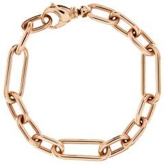 Jona 18 Karat Rose Gold Link Chain Bracelet