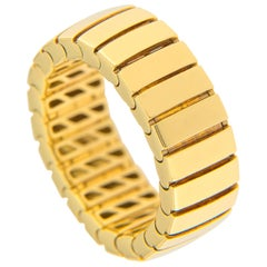 Jona 18 Karat Yellow Gold Flexible Band Ring