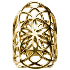 Jona 18 Karat Yellow Gold Leonardo Band Ring