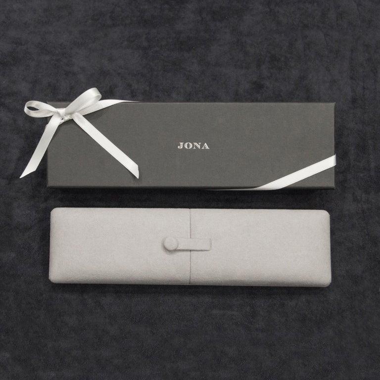 Jona 18 Karat Yellow Gold Link Chain Bracelet For Sale 5