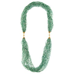 Jona Amazonite Multi-Strand Long Necklace