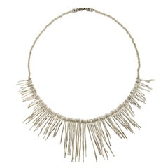 Jona Bastoncini Sterling Silver Necklace