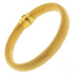 Jona Gold-Plated Sterling Silver Bangle Bracelet
