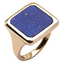 Jona Lapis Lazuli 18 Karat Yellow Gold Ring