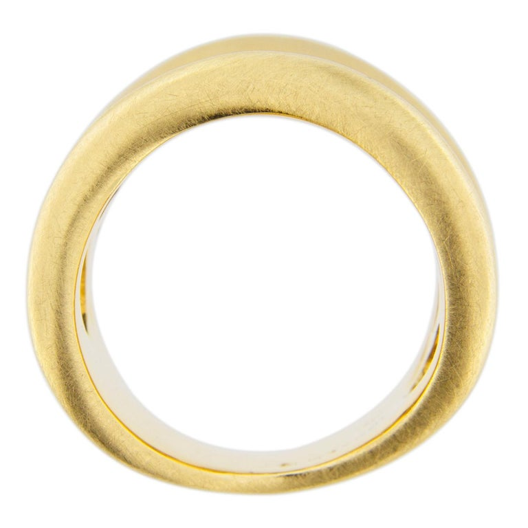 Jona Onda 18 Karat Yellow Gold Ring Band For Sale 6