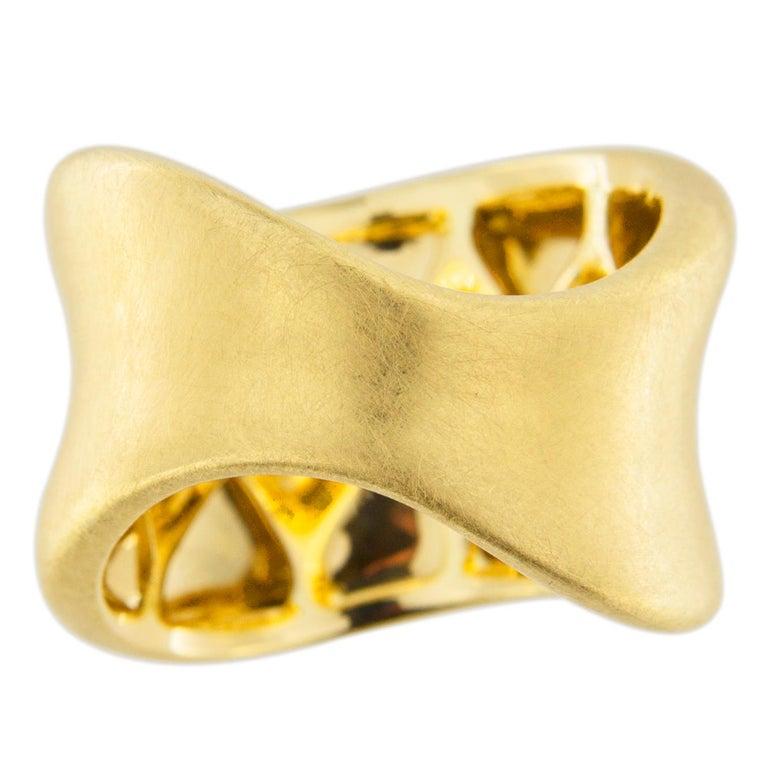Jona Onda 18 Karat Yellow Gold Ring Band For Sale 1