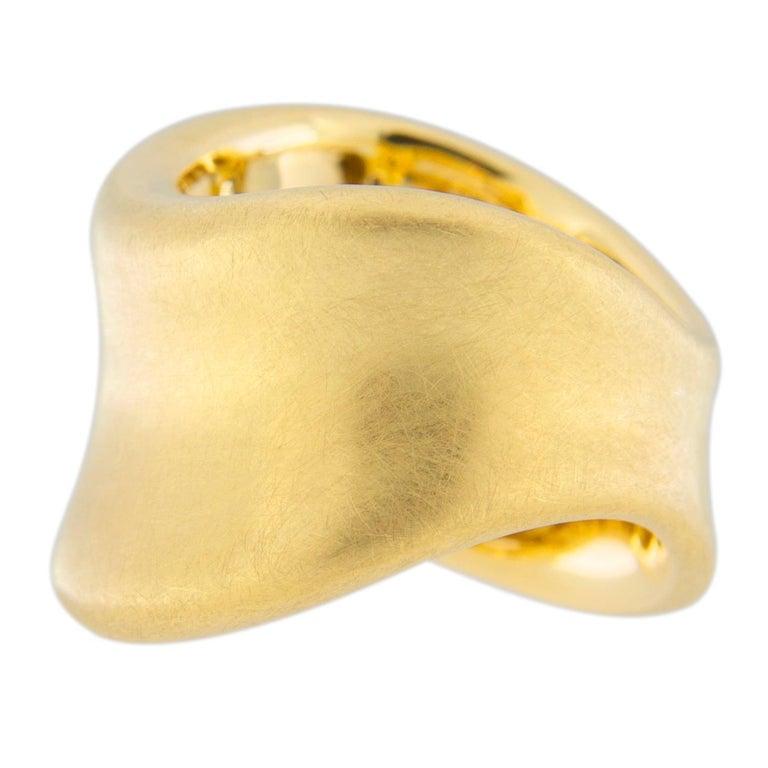 Jona Onda 18 Karat Yellow Gold Ring Band For Sale 4
