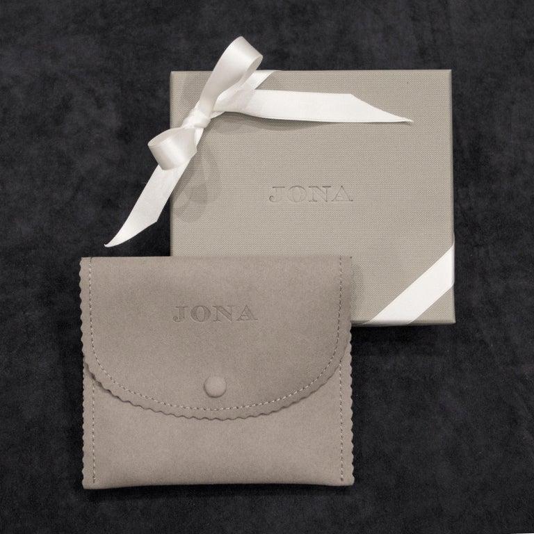 Jona Shackle Sterling Silver Key Holder For Sale 1