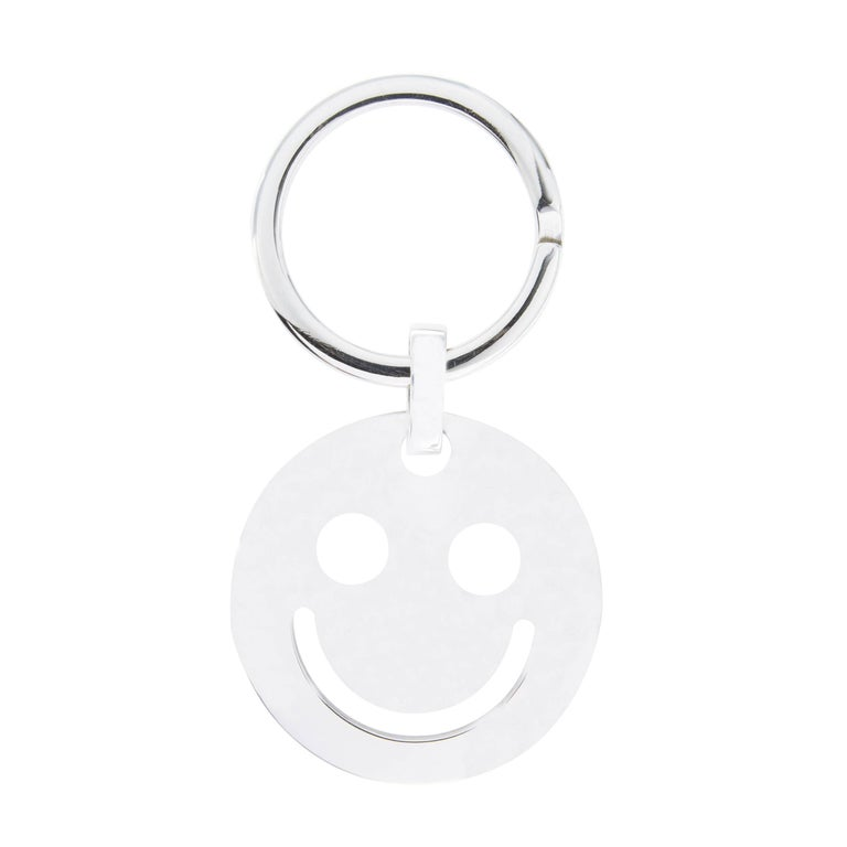 Jona Smile Sterling Silver Key Holder For Sale