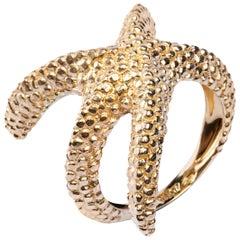 Jona Starfish 18 Karat Yellow Gold Ring