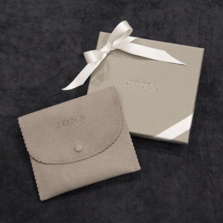 Women's or Men's Jona Sterling Silver Ladybug Key Holder For Sale
