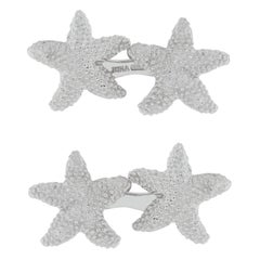 Jona Sterling Silver Starfish Cufflinks