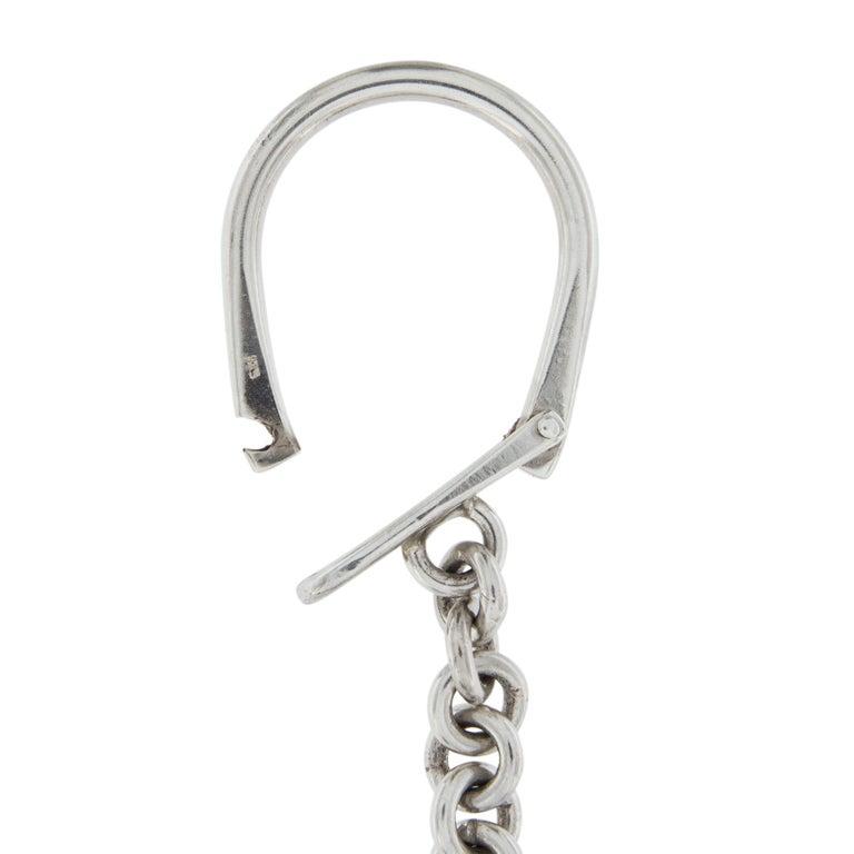 Women's or Men's Jona Sterling Silver Tennis Racket Key Holder For Sale