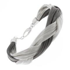 Jona Sterling Silver Woven Bracelet