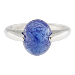 Jona Tanzanite 18 Karat White Gold Solitaire Ring