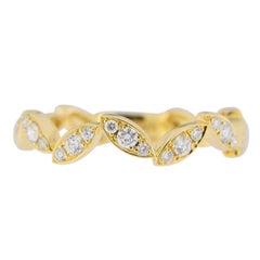 Jona White Diamonds 18 Karat Yellow Gold Ring