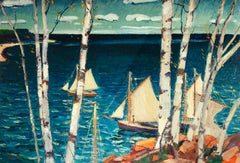 Sea and Birches