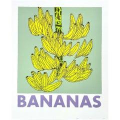 Bananas Print by Jonas Wood (INV# NP3188)