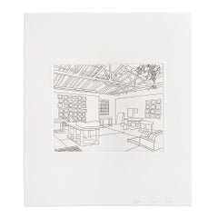 Bball Studio, 2019, Etching incl. Book and Bag, Contemporary Art