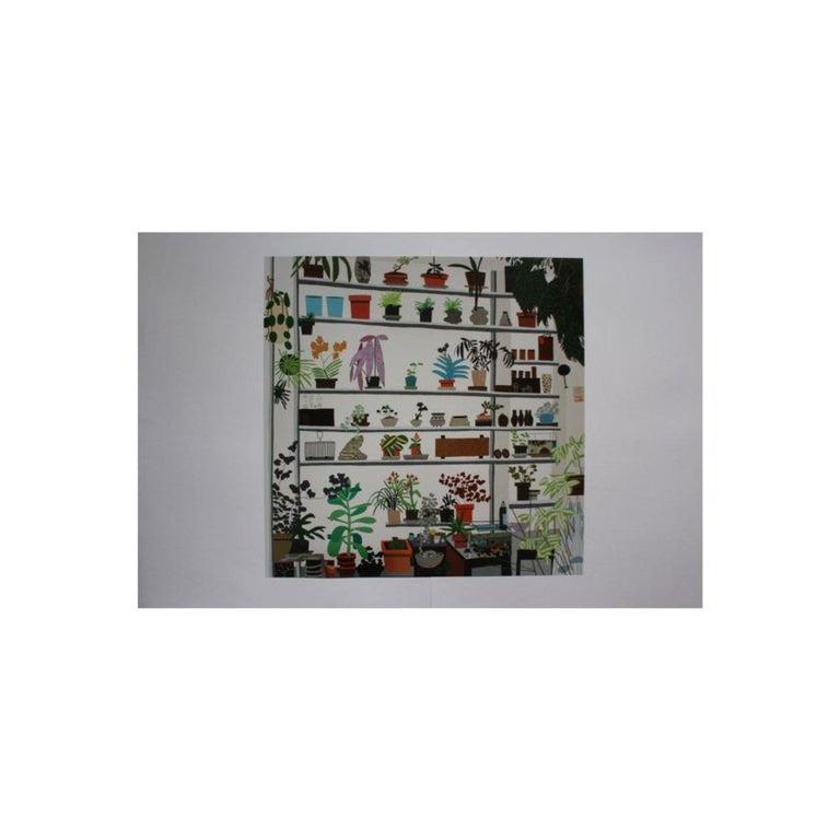 Jonas Wood, Large Shelf Still Life, Poster, 2017 - Contemporary Print by Jonas Wood