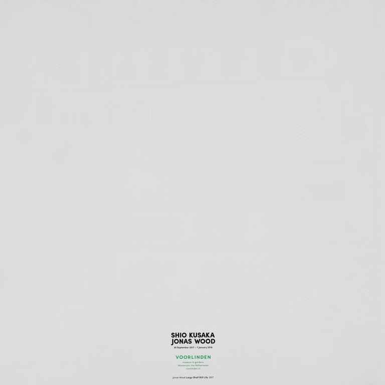 Jonas Wood, Large Shelf Still Life, Poster, 2017 For Sale 2