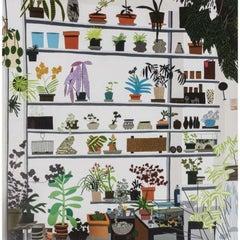Jonas Wood, Large Shelf Still Life, Poster, 2017
