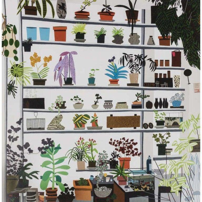 Jonas Wood, Large Shelf Still Life, Poster, 2017 - Print by Jonas Wood