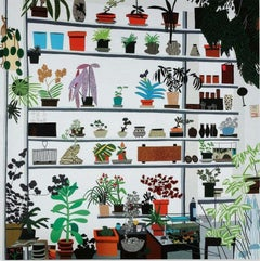 Jonas Wood Voorlinden Large Shelf Still Life, 2017 Condition Contemporary