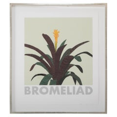 "Jonas Wood ""Bromeliad"" 13 Color Screen Print"